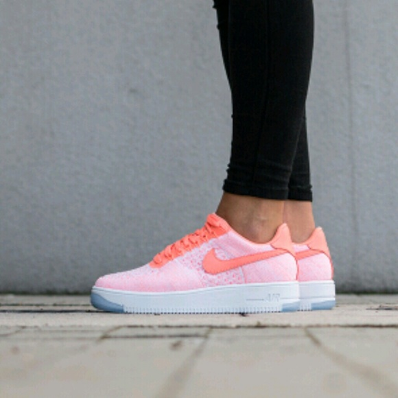 meet 85492 9ac3d Nike Atomic Pink Air Force 1 Flyknit sneakers